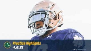 Video | Notre Dame Football 11-on-11 Highlights 4.6
