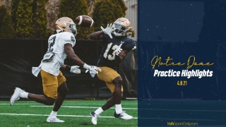 Video | Notre Dame Football Practice Highlights 4.8