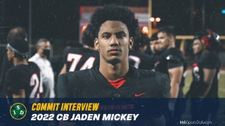Video | 2022 Notre Dame CB Commit Jaden Mickey