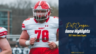 Video | 2021 Notre Dame OL Signee Pat Coogan Puts On A Show