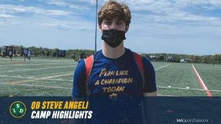 Video | 2022 Notre Dame QB Commit Steve Angeli UA Highlights