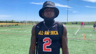 2022 S Sherrod Covil Jr. Looking Forward To Notre Dame Official