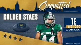 BREAKING | 2022 Four-Star TE Holden Staes Commits to Notre Dame