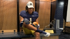 2024 ATH Peyton Woodyard Fired Up Following First Look at Notre Dame