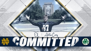 BREAKING | 2022 In-State Ashton Craig Commits to Notre Dame
