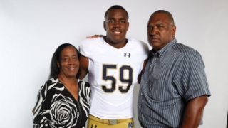 The Latest | Notre Dame & 2022 OL Aamil Wagner