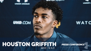 Video | Notre Dame Safety Houston Griffith Post-Practice 8.10