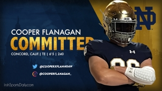 BREAKING | 2023 TE Cooper Flanagan Commits To Notre Dame
