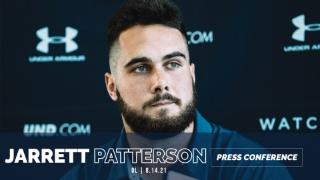 Video | Notre Dame OL Jarrett Patterson Post-Practice 8.14