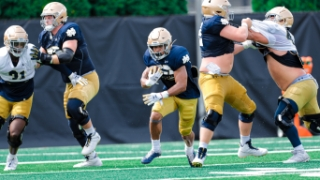 Quick Offensive Notes From Notre Dame's 10th Practice