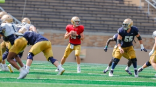 Brian Kelly's Confidence Growing in Notre Dame Offense