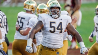 Notre Dame's noisy practices set stage for Doerer; injury, replay notes