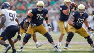Notre Dame OL Focused on Consistency & Communication