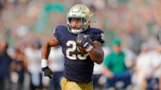 Notre Dame RB Chris Tyree Staying Patient