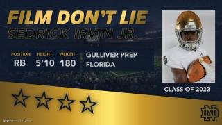 Film Don't Lie | Sedrick Irvin Jr.