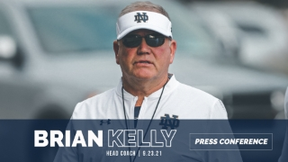 Video | Brian Kelly Updates Injuries, Kurt Hinish's Status & More